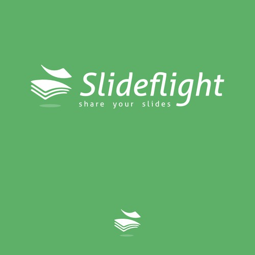 Slideflight Logo Design