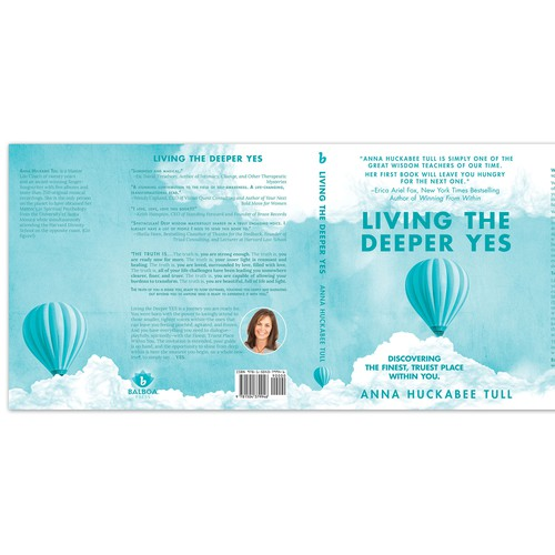 Living The Deeper Yes Book Cover Proposal