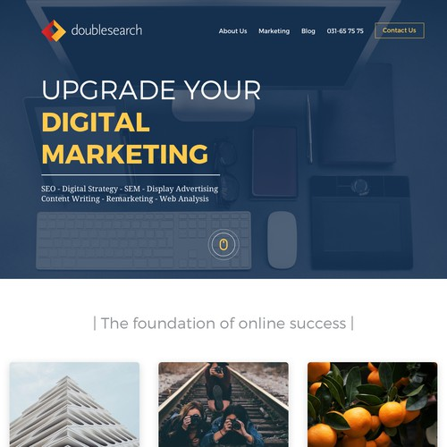 Digital Marketing Website