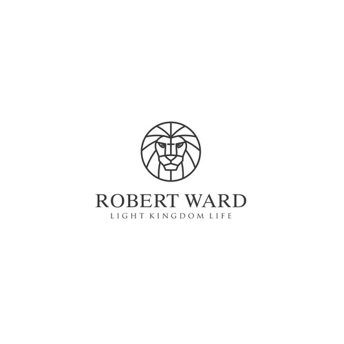 A simple and clean logo to represent Lion of Judah for Robert Ward