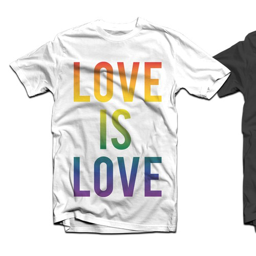 T-shirt graphic for Same-Sex Marriage