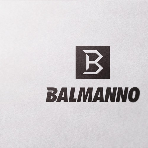 Clean logo concept for Bal, a sports wear brand for men and women in New Zealandnno