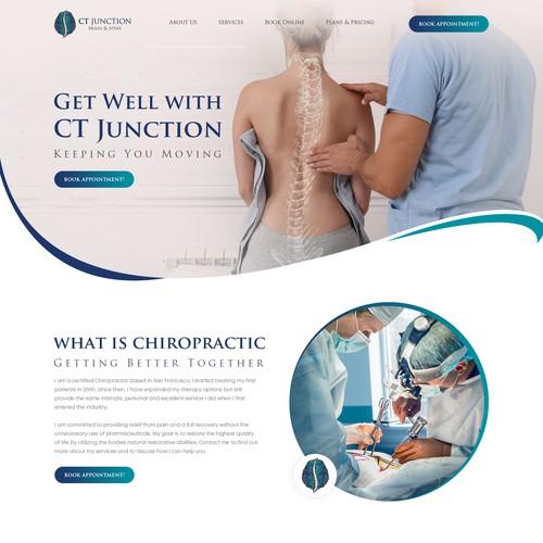 New school chiropractic look