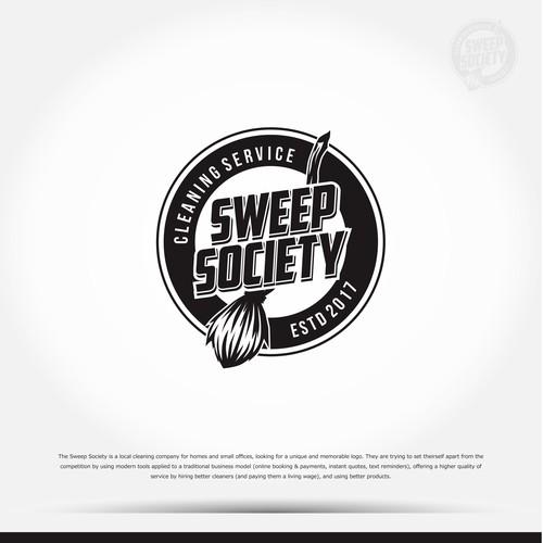 Retro Logo for Sweep Society