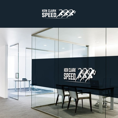 sought after speed training expert private coaching business logo