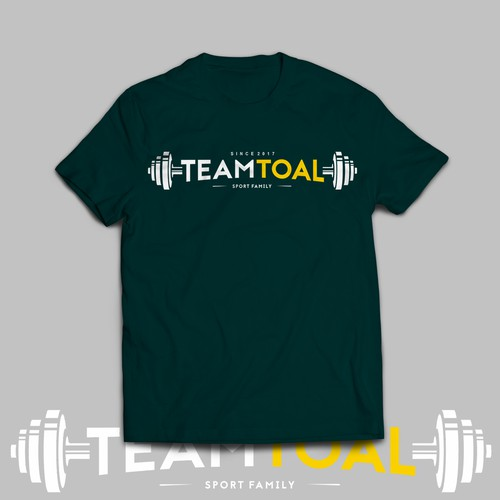 simple cut for TEAMTOAL