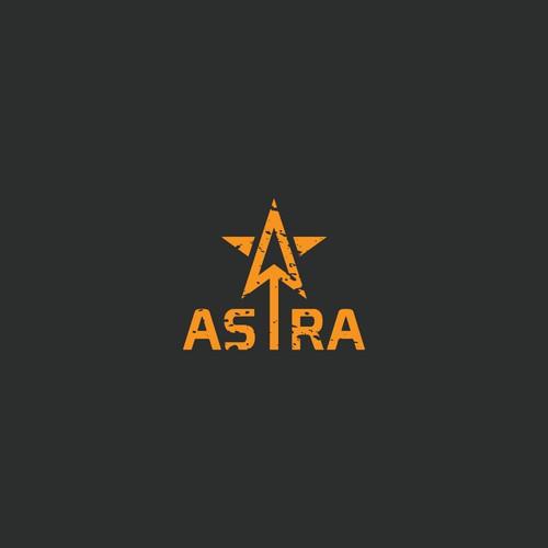 Logo for Astra (arrow+star)
