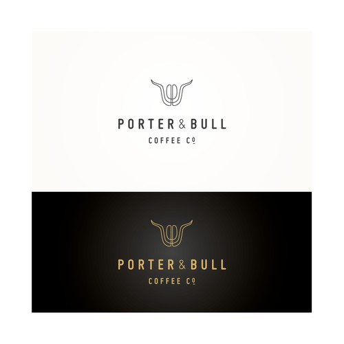 Porter&Bull Coffee Co. logo