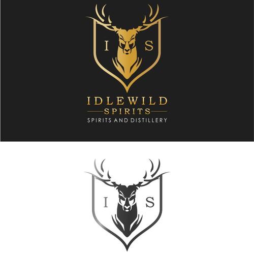 Idlewild Spirits Logo Design