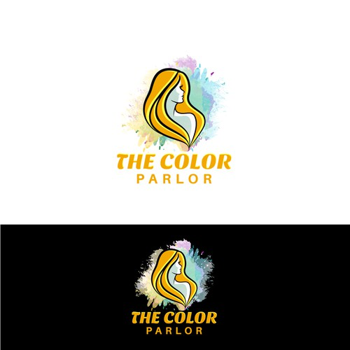 """Winning design for 'The Color Parlor""""."""