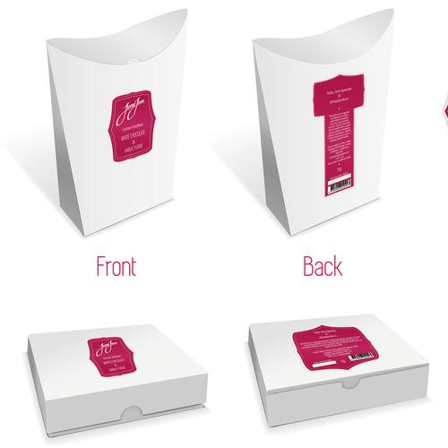 JoniJon - handmade candy packaging & label design