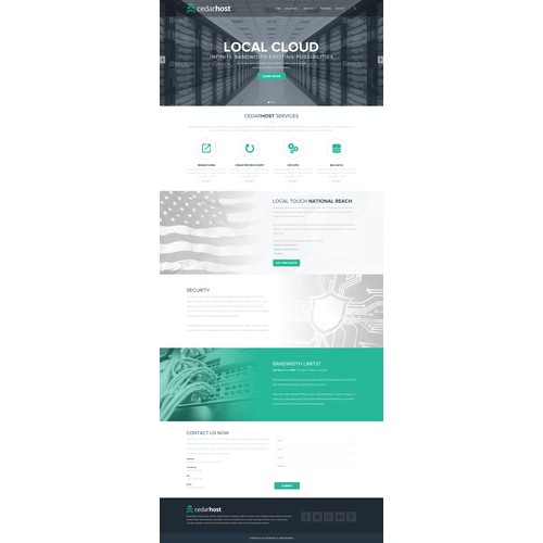 Cedar Host Website Designs