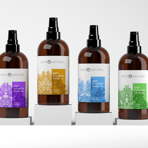 Eye-catching and sophisticated product label