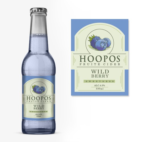Cider Label Design