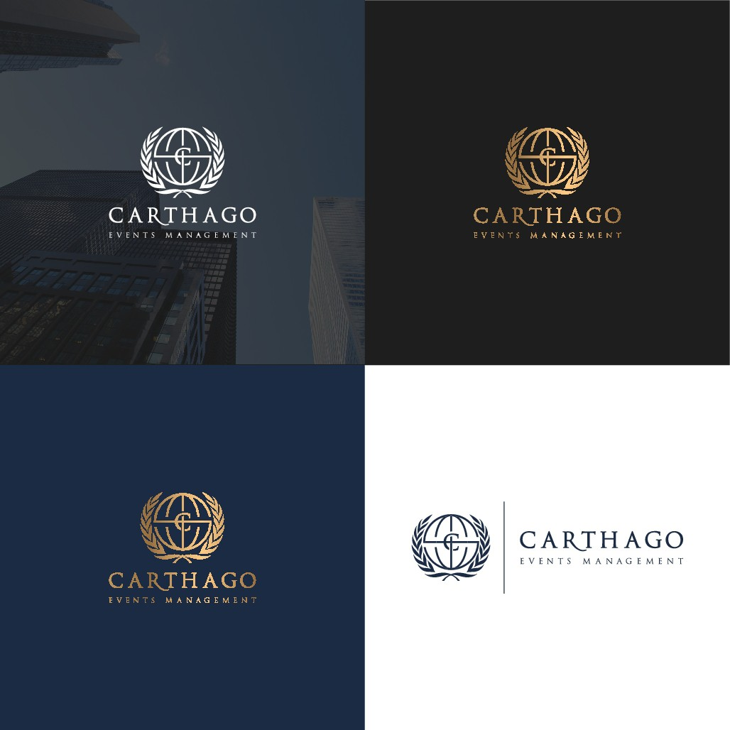 CARTHAGO EVENTS MANAGEMENT LOGO