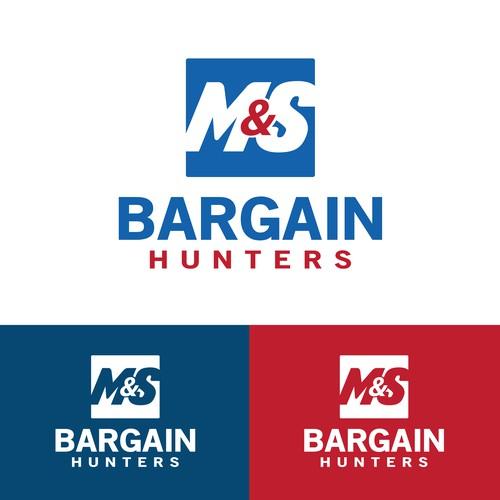 M&S Bargain Hunters Logo Design