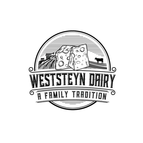 Logo concept for dairy
