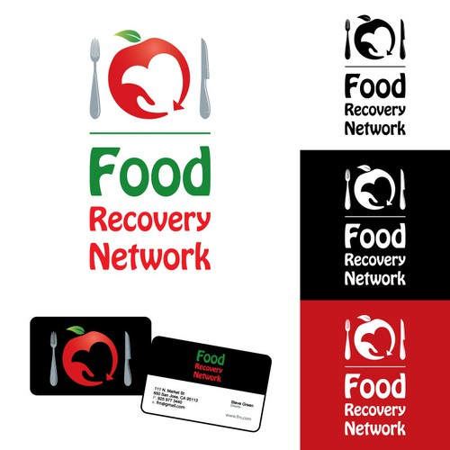 Logo for Food Recovery Network