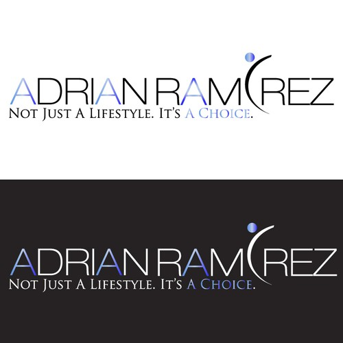Create the next logo for AdriAn rAmirez