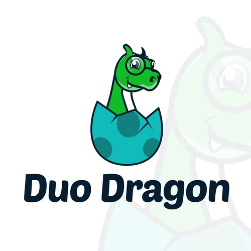 Winning Logo Design for Duo Dragon
