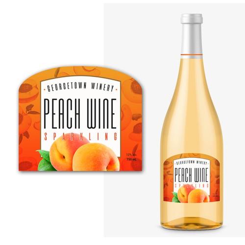 Etiqueta para vino