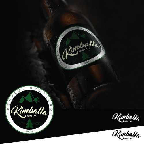 logo concept for Kimballa Beer Co