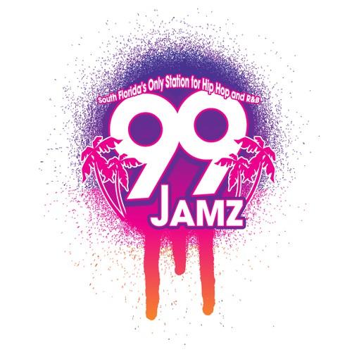 logo for 99 JAMZ