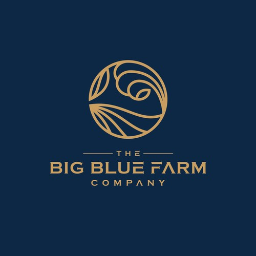 THE BIG BLUE FARM LOGO