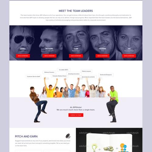 Authority British meets global, Wordpress, Beautiful website needed now!