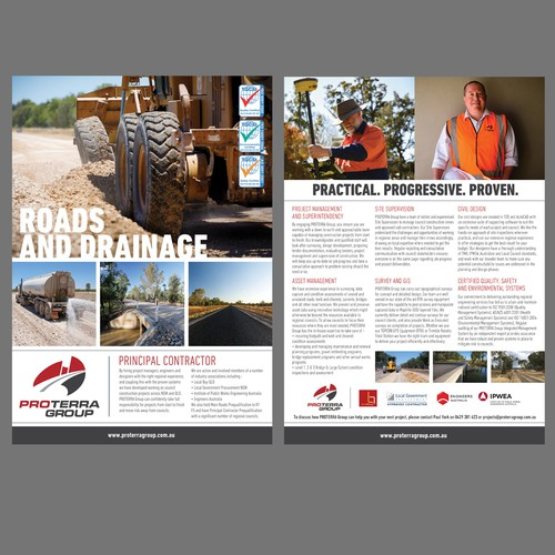 Proterra Group - Double Sided Flyer