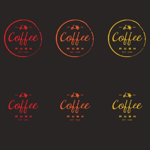 logo for a coffee bar