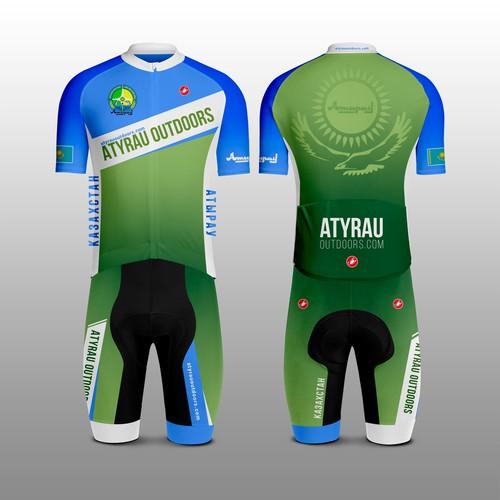 Atyrau Атырау cycling kit
