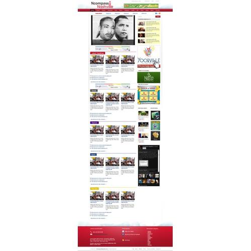 MAGAZINE WEBSITE REDESIGN