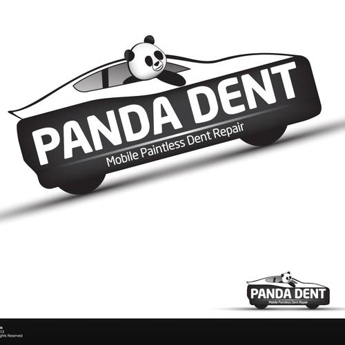 Panda Dent Repair Services Needs A Logo!