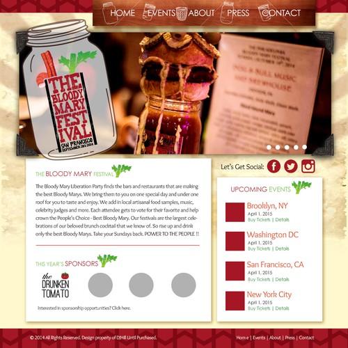 Website Design For Festival