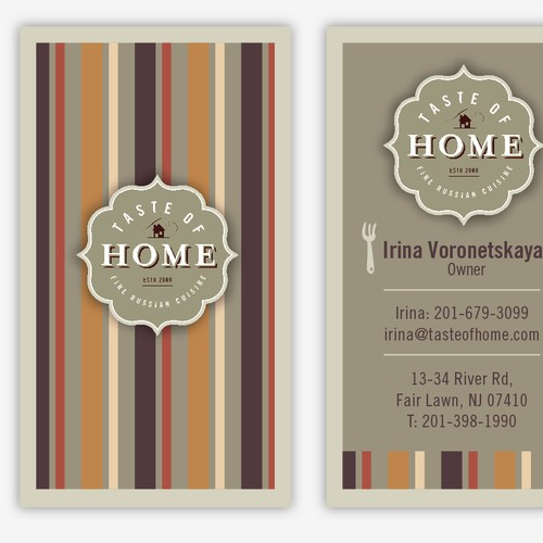 stationery for taste of home