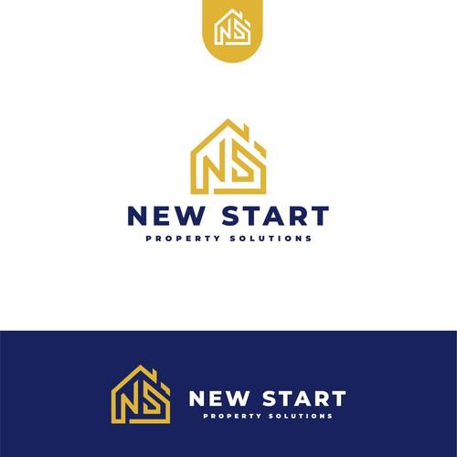 Logo for New start property solution