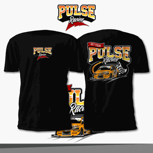T shirt for PULSE Racing.