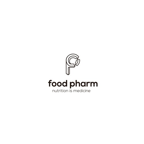 Food Pharm logo proposal