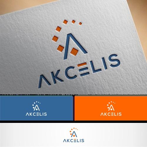 Lettermark A logo for akcelis