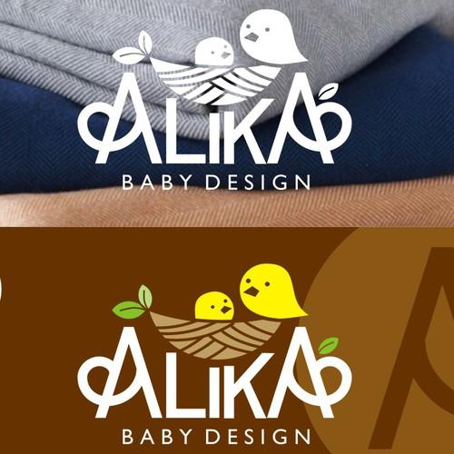 Natural and Cute logo for Alika