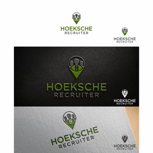 A modern logo that communicates: local expertise, trust and making connections