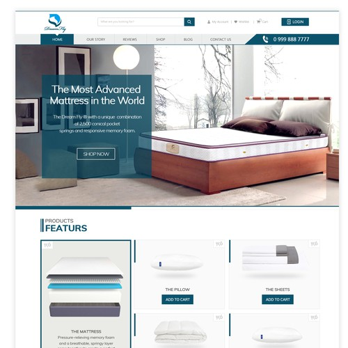 Home and Furnishing Website Design