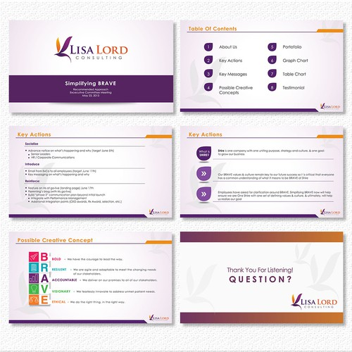 Simple Professional PowerPoint Template