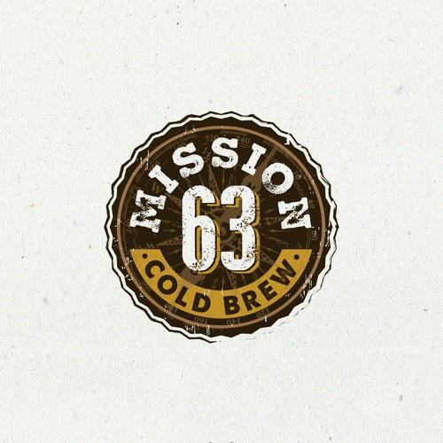 Logo design for Mission 63 Cold Brew
