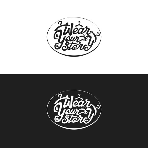 "Create a captivating logo for ""Wear Your Story"" a fashion company that helps people in need"
