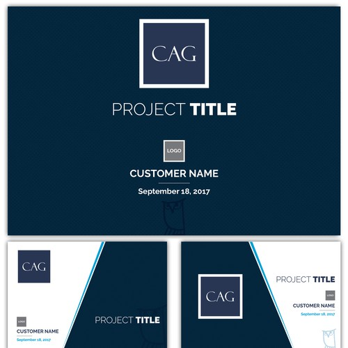 CAG Corporate Template