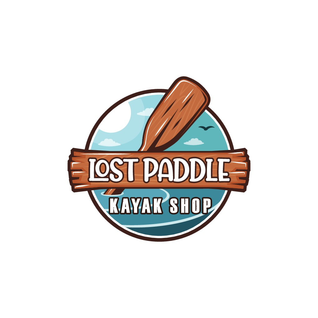 Need an outdoorsy, original logo for locally owned kayak and paddling gear shop