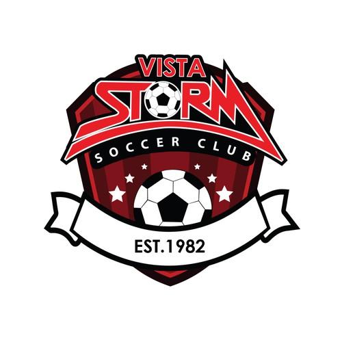 vista storm logo concept