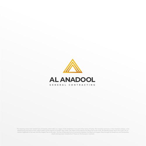 Logo Design Concept for Al Anadool General Contractor